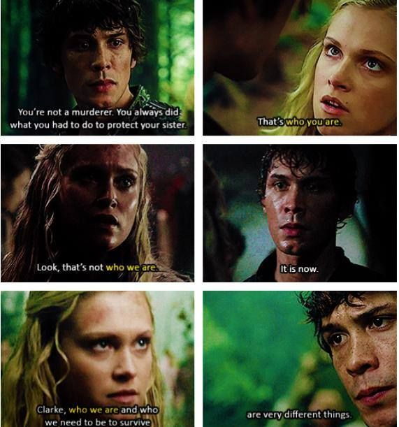 100 Movies 100 Quotes: Bellamy & Clarke