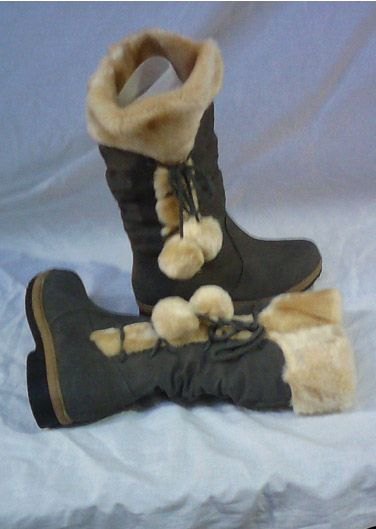 Ladies Snow Fur Boots Now In Stock At Stylishtrends For An Outstanding Price Of £19.99 Only.