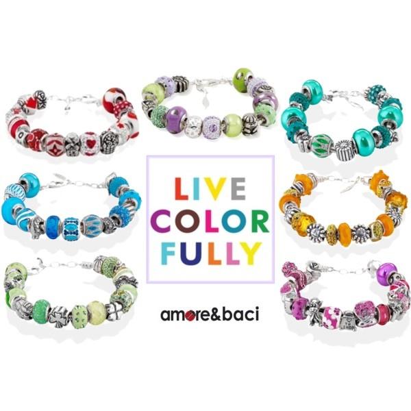 Live Colorfully! by amoreebaciworld on Polyvore
