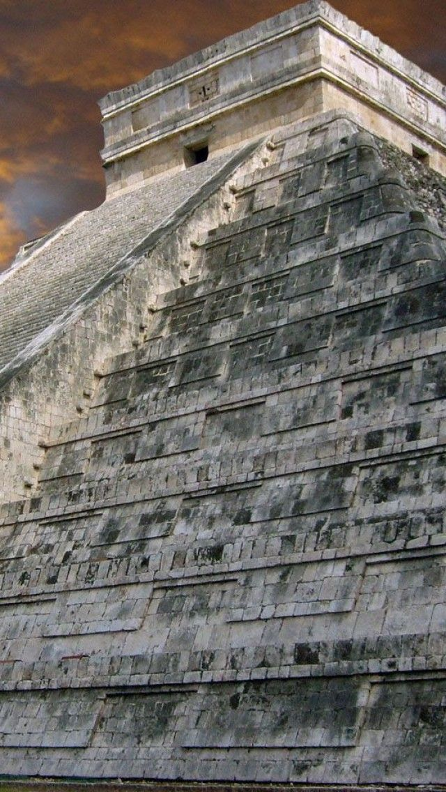 Chichen Itza, Yucatan, Mexico - I climbed these steps with my mom in 1994  - it was amazing.