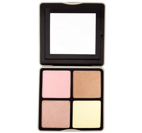 Nude Rose 4 Color Face Highlighter Palette | BH Cosmetics
