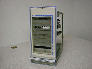 The CONTROL BOX of a Barudan 900 series contains the Hard Drive