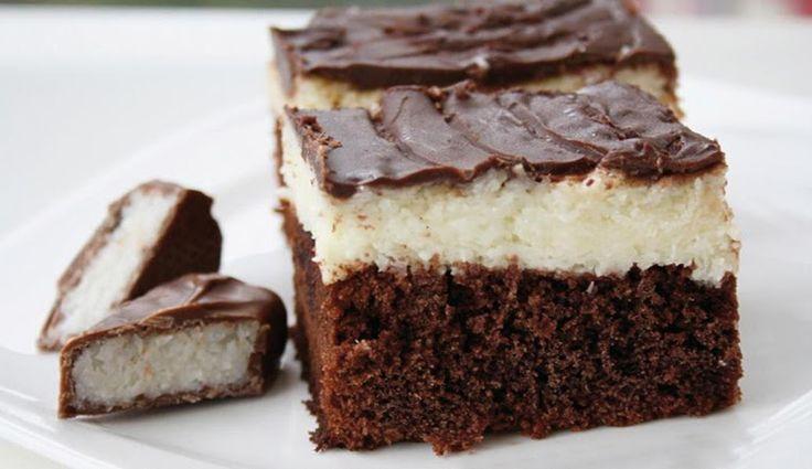 Beste Rezeptesammlung: Kokos - Bountykuchen vom Blech