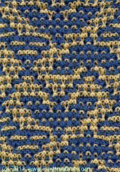 Mosaic Knitting Pattern Generator : Odins Eagles - Knittingfool Stitch Detail Lace knit stitches Pintere...