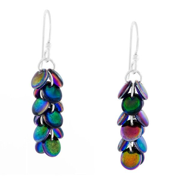Cascading Earrings | Fusion Beads Inspiration Gallery