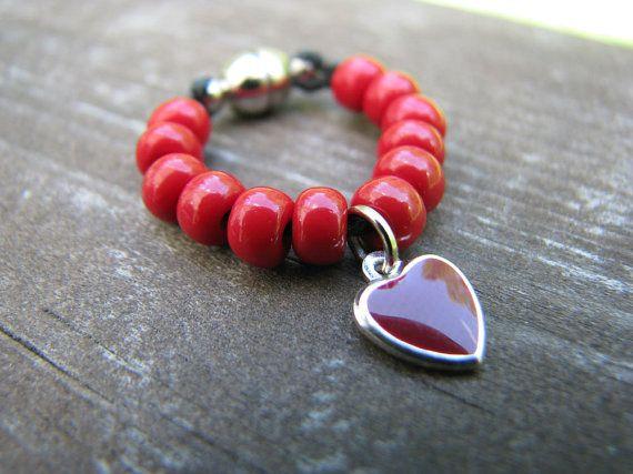 Blythe & Pullip Red Heart Necklace by finasma on Etsy.