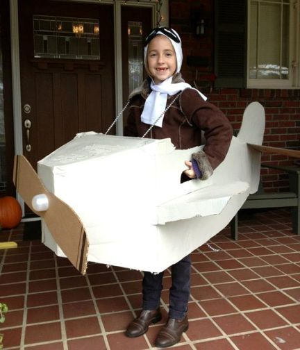 Amelia Earhart costume | 15 DIY Halloween Costumes for Kids (with an Educational Twist)