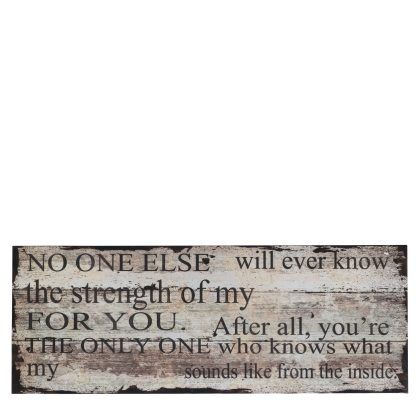 No one else...Pfister quote