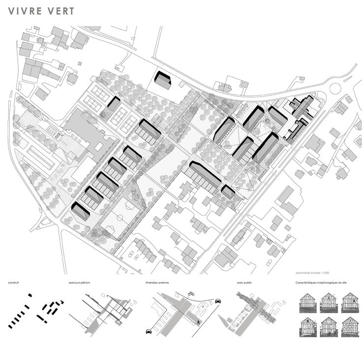 OPERASTUDIO - Project - Social housing in Switzerland - Masterplan and concept  #social #housing #concept #masterplan