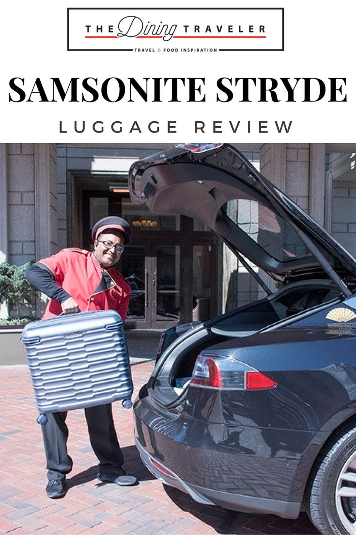 Luggage Review. Review of the Samsonite Stryde Medium Journey Suitcase.