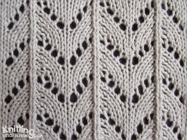 Knitting Horseshoe Lace Stitch Pattern : 52 best images about Knit Stitches on Pinterest The stitch, Ribs and Lace k...