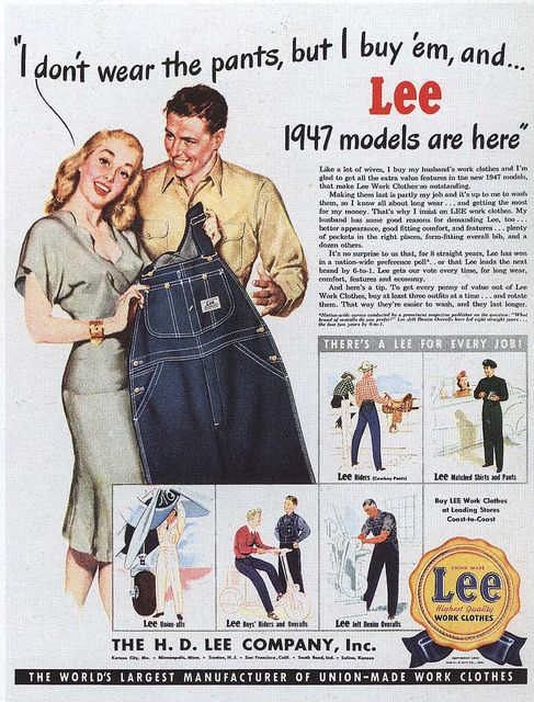 old lee jeans ads | Recent Photos The Commons Getty Collection Galleries World Map App ...