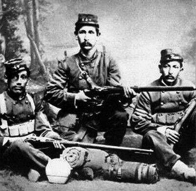 Soldados del Regimiento Valparaiso
