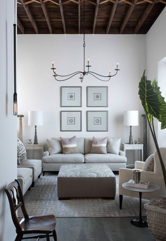 The appeal of the Currey and Company Saxon Chandelier can be found in its minimalistic beauty. The slender, slightly curved arms elongate across the six light chandelier. With the Zanzibar Black finish, it is the perfect representation of stylish minimalism. Shop Lovecup.com for designer chandeliers, wall sconces, floor lamps and table lamps.