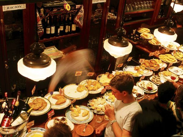 San Sebastián, on the Cantabrian coast in Basque country, and one of its all-male cooking clubs