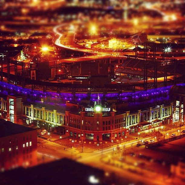 68 Best Coors Field Images On Pinterest