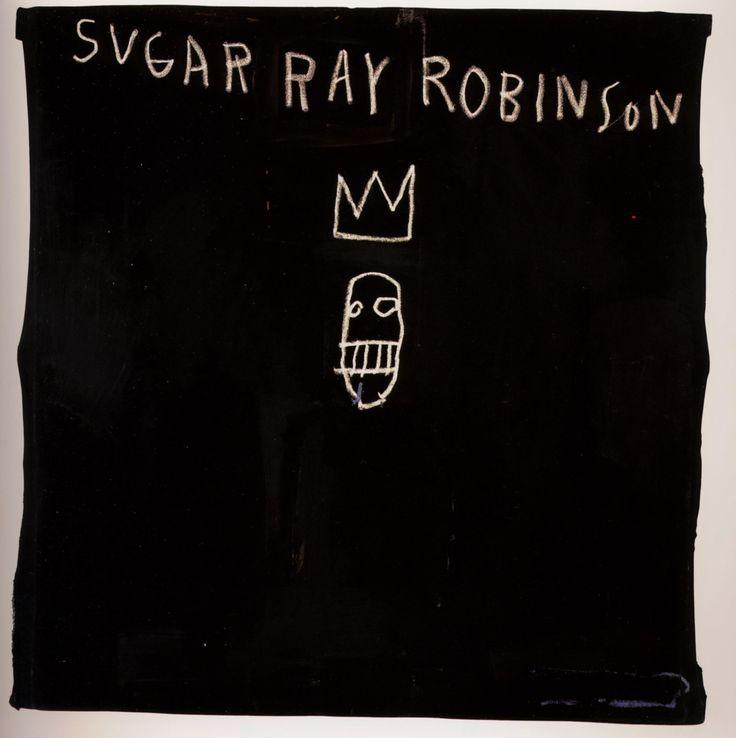 Sugar Ray Robinson - Jean-Michel Basquiat, 1982