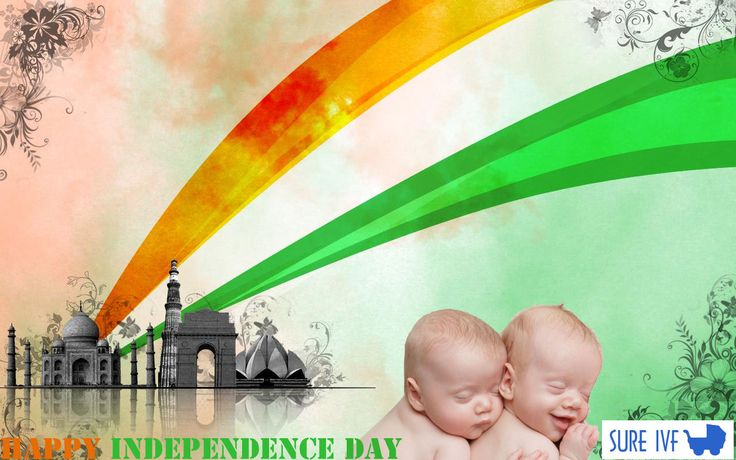 sure ivf-Happy Independence Day to all---#India #Independence#ivf Clinic