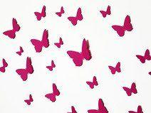 Fancy  D Schmetterlinge Wanddeko Schmetterling