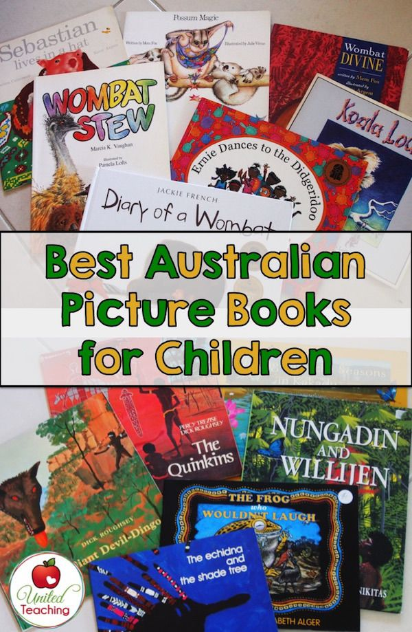Great Australian Picture Books from United Teaching - we've read (and loved) most of these!