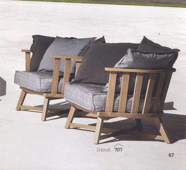 GERVASONI Inout 707 Armchair · Teak FurnitureOutdoor ... Part 67