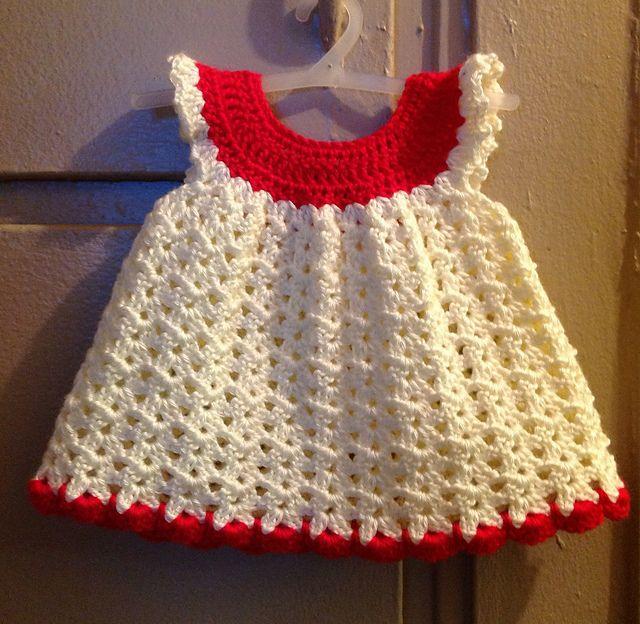 Ravelry Angel Wings Pinafore Free Crochet Pattern