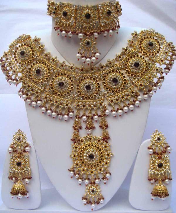 Opulent Indian Wedding Necklace