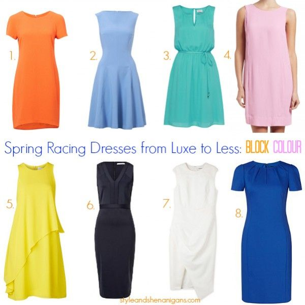 Spring Racing Dresses from Luxe to Less - Style & Shenanigans