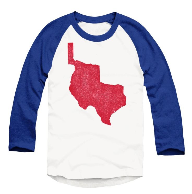 Republic of texas raglan baseball t shirt shoptwt www for Texas baseball t shirt