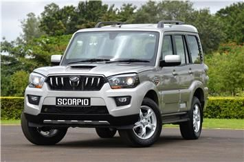 Updated Mahindra Scorpio gets refined six-speed automatic gearbox from the earlier model; available as 2WD or 4WD.