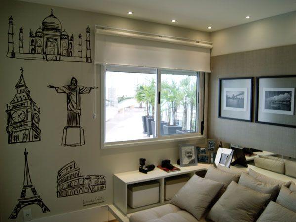 Quartos masculinos Como decorar , 1ª parte. , Blog Construir