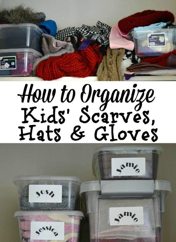 Kidsu0027 Organization Ideas For Hats, Gloves U0026 Scarves Part 38