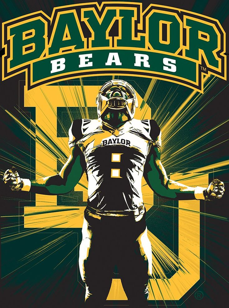 Pin by Jason Streets on College Football in 2020 Baylor