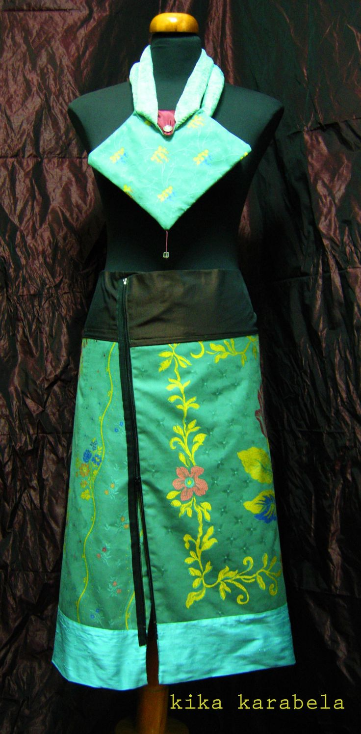 2-piece silk+cotton A-skirts / create your own combination / matching hand-bags , also ! AGATHI E.E.-KIKA / Clothing Store - 27 , K.OIKONOMOY str. 10683 ATHENS , GR contact : +30 210 8223604 / agathi.ee@gmail.com