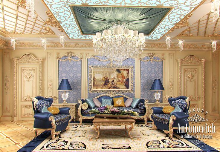 LUSSO Antonovich PROGETTAZIONE EAU: Camera da letto design da Kateryna Antonovich