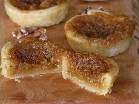 Wildly popular in Canada, this traditional dessert, called a butter tart, is slowing but surely making its presence known down here in the good 'ole US of A. Picture a mini pecan pie without the pecans. Now imagine adding raisins and or walnuts. That is a classic butter tart and this recipe will show you why Canadians love them.