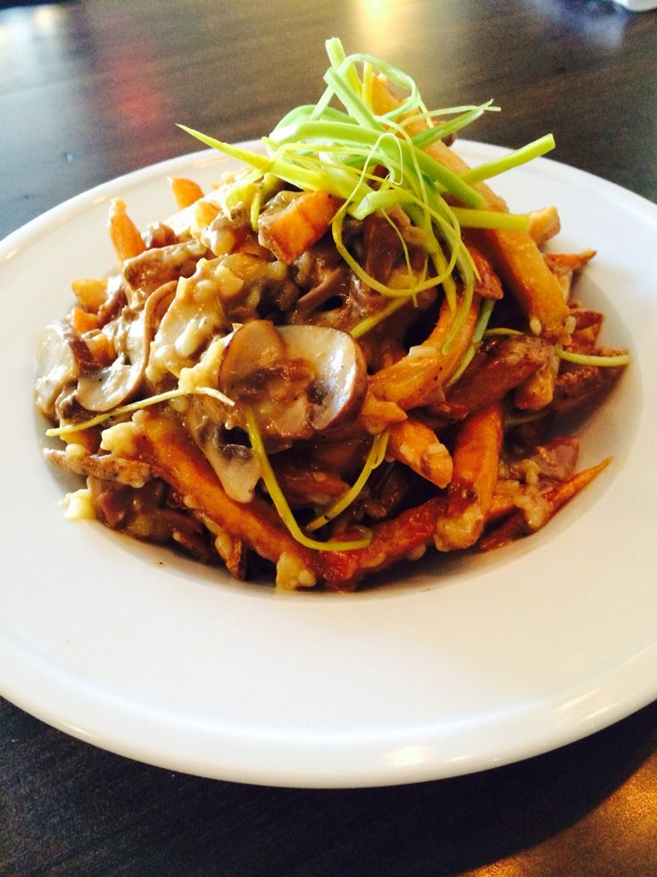Duck Confit Poutine at The Smokery Kitchen & Bar #thesmokerystouffville @thesmokery.ca