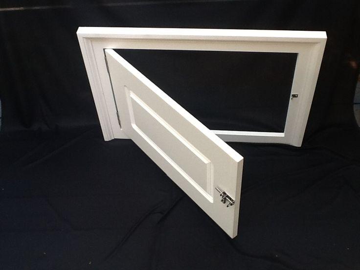 17 best crawl space access doors images on pinterest for Exterior basement access doors
