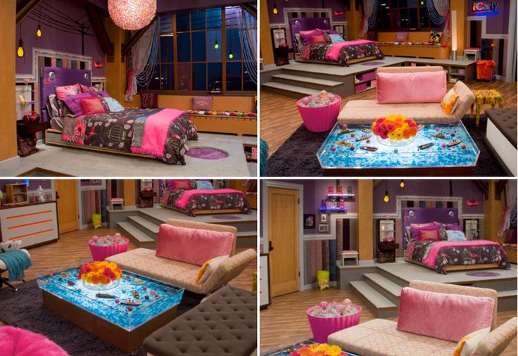 icarly bedroom - Google-Suche                                                                                                                                                                                 More