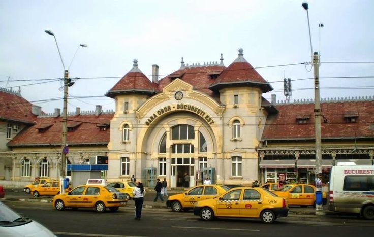 estacion tren de bucarest En la parte Este de Bucarest está la Gara Obor (Estación del Este), de la que salen o llegan algunos trenes regionales de Fetesti y Calarasi