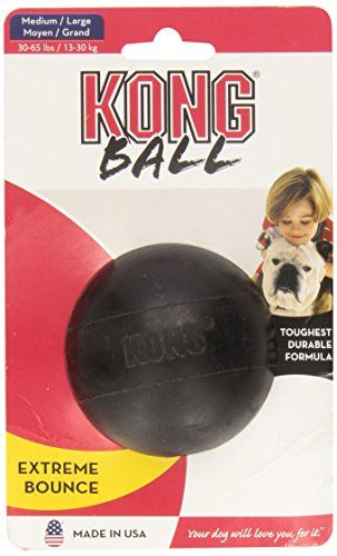 KONG Extreme Ball, Dog Toy, Medium/Large   Check it out-->  http://mypets.us/product/kong-extreme-ball-dog-toy-mediumlarge/  #pet #food #bed #supplies