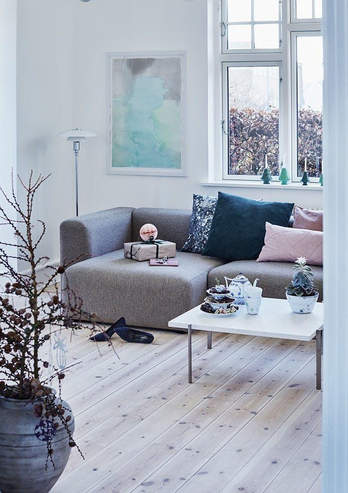jul renovering ombygning hus villa stue sofa