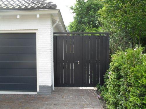 Hekwerk poort - Brandola Lunteren