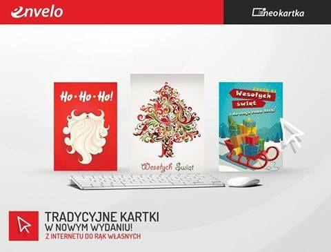 #envelo ma dla wszystkich prezent! Nowe kartki świąteczne :)