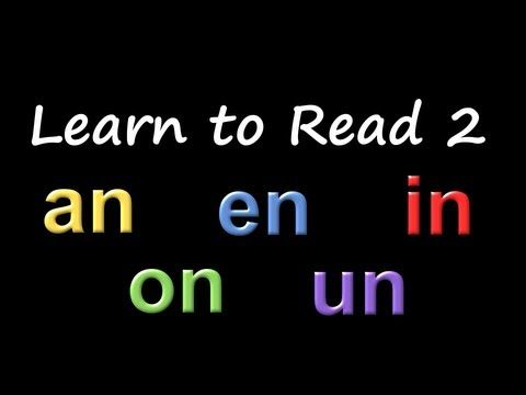 Learn to Read 2: Phonics & Rhyming - The Kids' Picture Show (Fun & Educational Learning Video) - YouTube