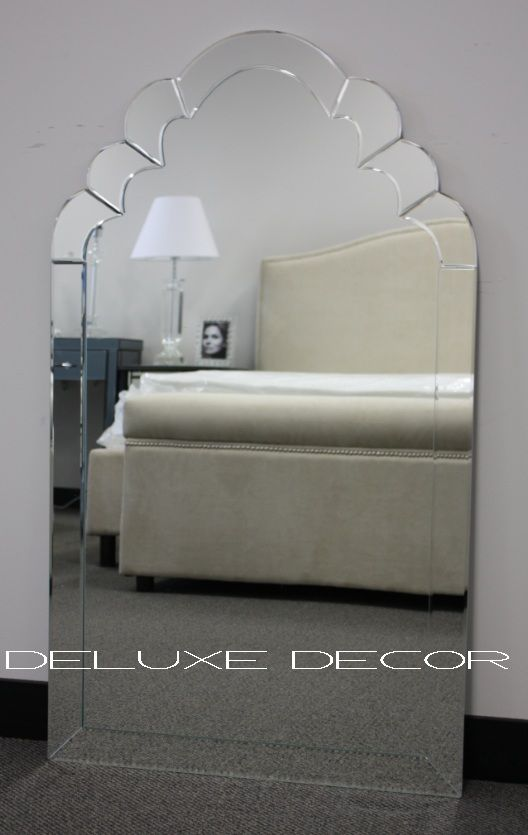 Bevelled Edge Arched Wall Mirror 025# (650 x 950 mm) http://deluxedecor.com.au/products-page/wall-mirrors/bevelled-edge-arched-wall-mirror-025-650-x-950-mm/