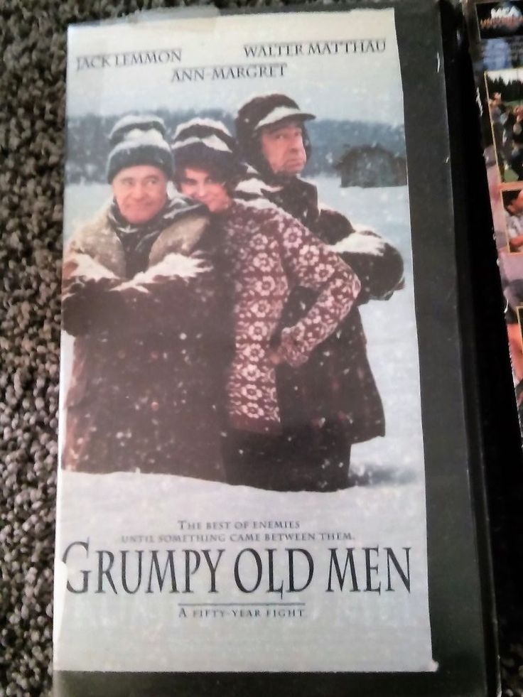 17 best ideas about grumpy old men bulldogs old details about grumpy old men 1994 vhs jack lemmon walter matthau guc library owned