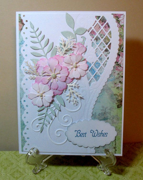 Скрапбукинг открытки для пожилых, днем