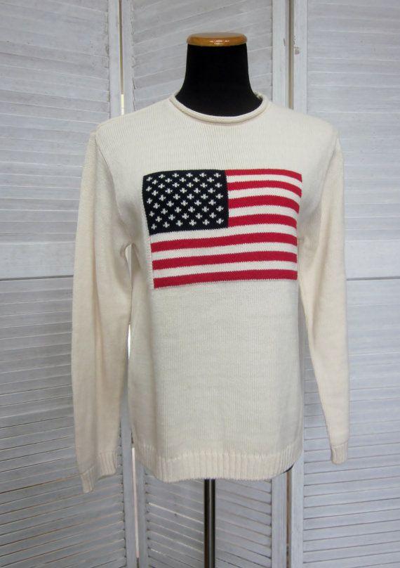 Best 25  American flag sweater ideas on Pinterest | American flag ...