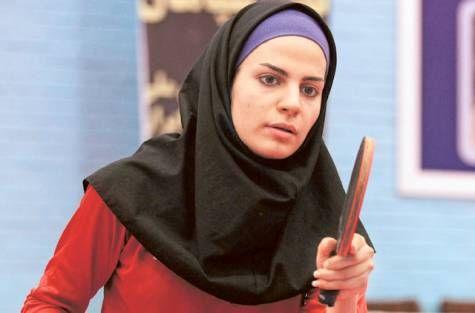 Neda Shahsavari is Iran's first female contender at the Olympic's table tennis.: 2012 Olympics, Iran, Neda Shahsavari, Cant Wait, Tables Tennis, Olympics Ambition, Tennis Medal, Olympics Tables, Trailblaz Dreams